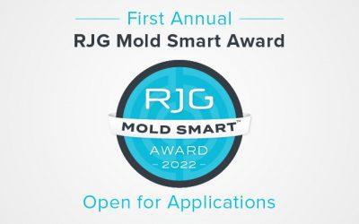 Bewerbungsstart für den ersten weltweiten Mold Smart Award von RJG